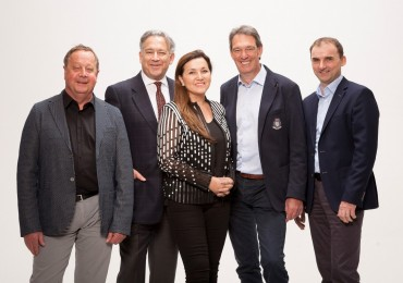 Johannes Grabner, Enrique Camacho, Elizabeth Camacho, Alfred Griesbaum, Gerhard Kornfelder