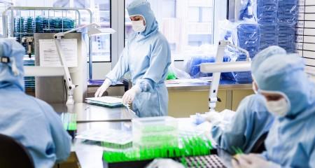 RICO Group Kompetenzen Reinraumproduktion