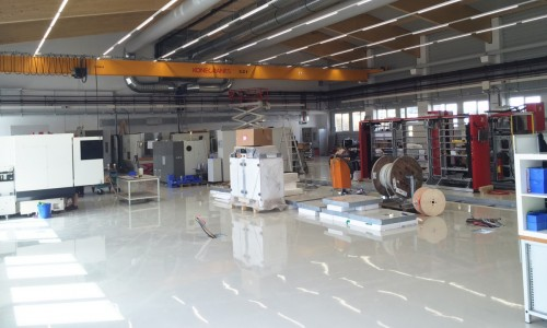 Neue Werkzeugbauhalle bei Rico
